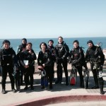 Group photo with Instructor Manami Imagawa's Advance Class and her fun divers at Veteran's Park