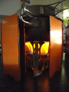 SP Hybrid+Stove, Stand, Windshield
