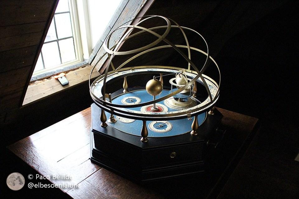 Planetario mecánico del Hofwijck. Foto: © Lola Vázquez.
