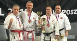 Mirosław Szpyt srebrnym medalistą Mistrzostw Świata Karate Shotokan federacji WSF. Foto: Piotr Czeleń