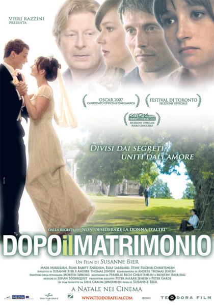 Locandina italiana Dopo il matrimonio