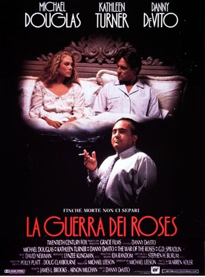 Locandina italiana La guerra dei Roses