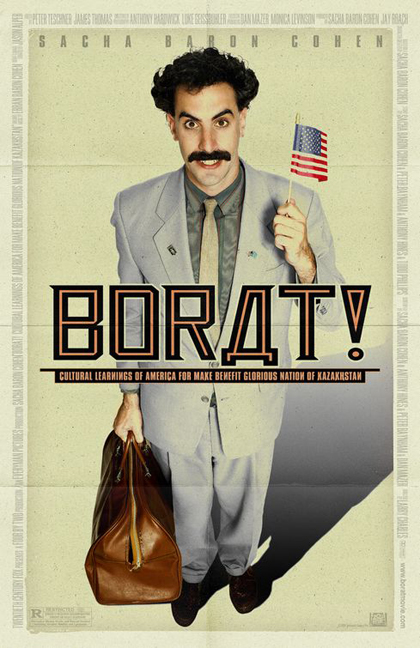 Poster Borat - Studio culturale sull'America a beneficio della gloriosa nazione del Kazakistan