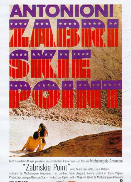 Locandina Zabriskie Point