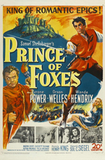 Locandina Il principe delle volpi