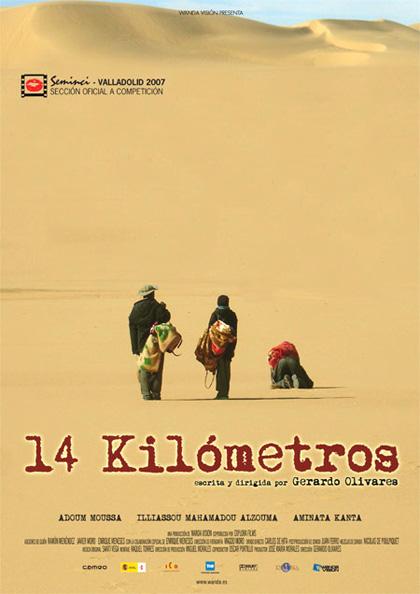 Poster 14 Kilómetros