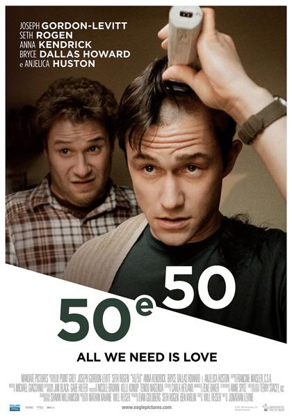 Locandina italiana 50 e 50