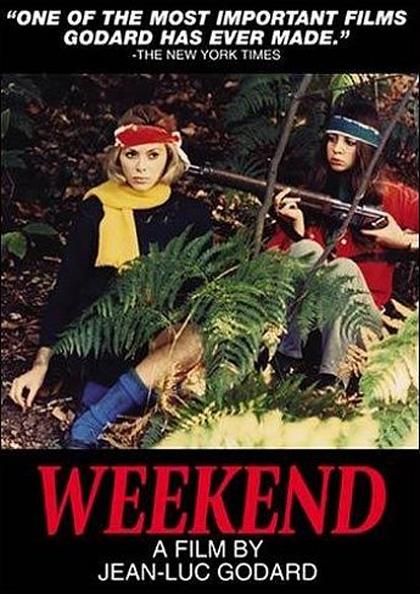 Locandina Week-end, un uomo e una donna dal sabato alla domenica