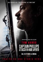 Locandina Captain Phillips - Attacco in mare aperto