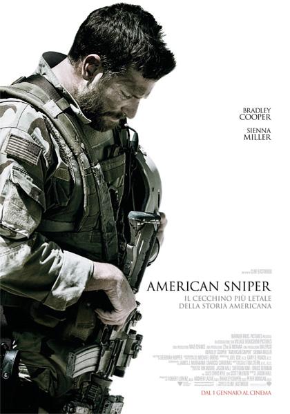 Locandina italiana American Sniper