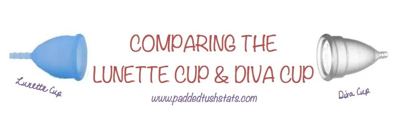 Comparing Lunette Menstrual Cup and Diva Menstrual Cup