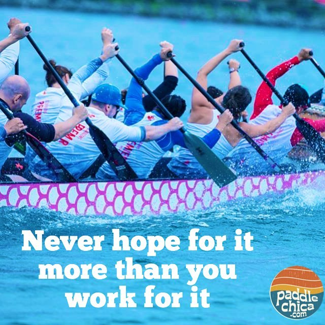 Train hard this weekend! paddlechica dragonboat hardwork Photo Ed Nguyen