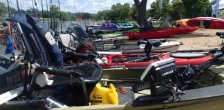 Fishing Kayaks Ready
