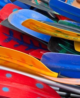 kayak paddle sizing