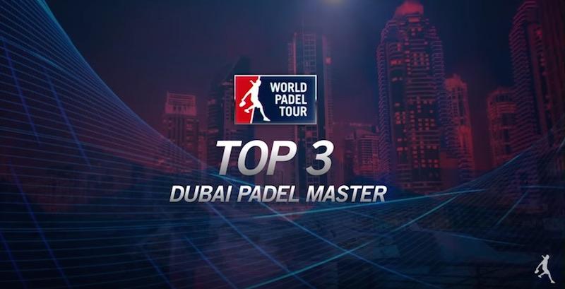 Mejores puntos Dubai Padel Master