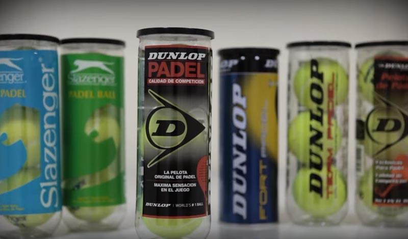 Así se fabrican las pelotas de pádel Dunlop