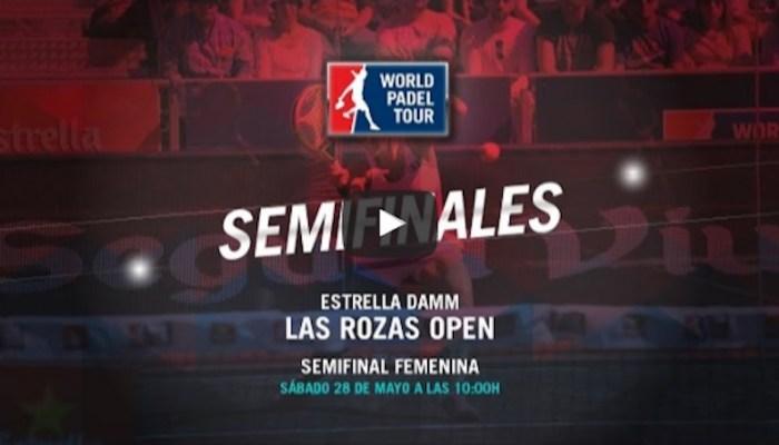 Semifinales femeninas World Padel Tour Las Rozas 2016 en directo y online