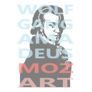 Mozart Portrait and Typography