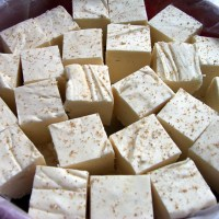 Easy Fudge Recipe for Eggnog Fudge