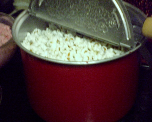 Popcorn for election night