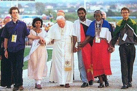 Doświadczyć świętości - zaproszenie do wspólnej modlitwy przy grobie =ołtarzu świętego Jana Pawła II