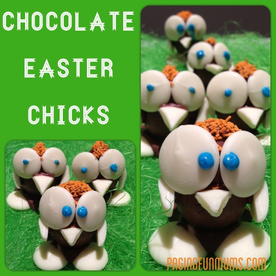 Chocolate Easter Chicks