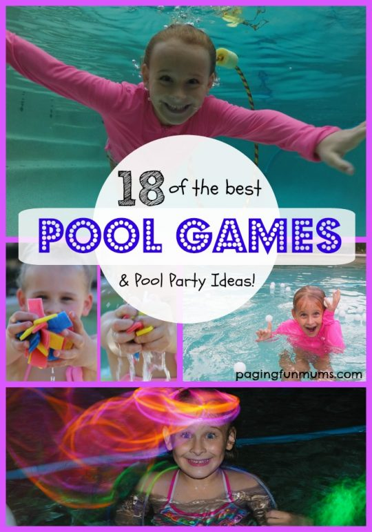 18 of the best swimming pool games paging fun mums for Swimming pool games for kids ideas