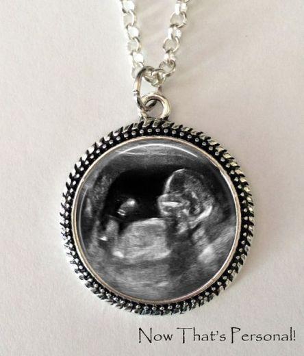 Sonogram Necklace