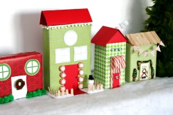 Small Of Christmas Village Houses