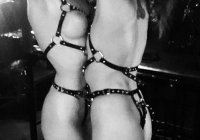 bondage both tied bw