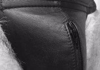 leather mrB BW