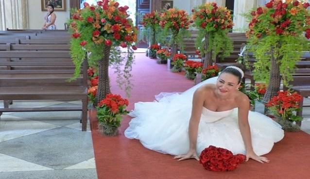 noiva largada no altar