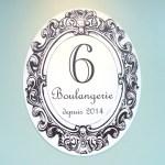 Boulangerie 6(ブーランジュリー・シス)のロゴマーク