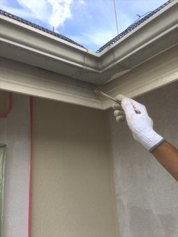 リシン外壁ガイナ塗装 (6)
