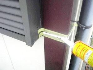 破風板などのつぎ目止水処理3