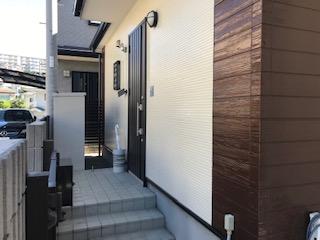 ガイナ 横浜市南区 コロニアル 屋根 塗装