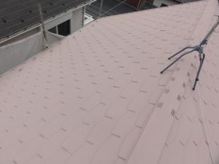 泉区 ガイナ 屋根 塗装