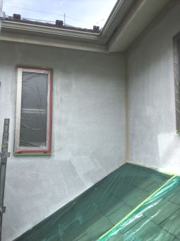 リシン外壁ガイナ塗装 (1)