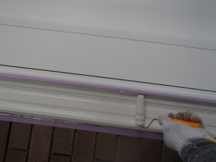 ガイナ 麻生区 コロニアル 屋根 塗装