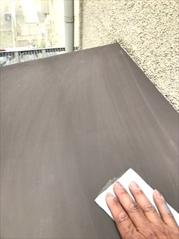 藤沢市ガイナ塗装2日、3日目 (8)