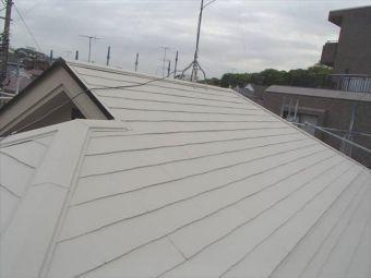 コロニアル屋根 ガイナ塗装 (5)