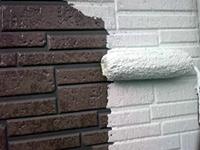 9サイディング壁 ガイナ塗装 中塗り(2層目)2