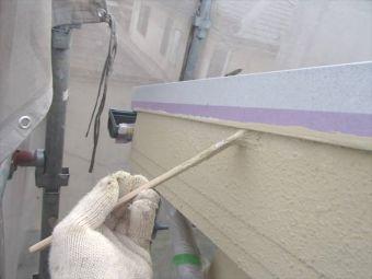 外壁リシンの塗替え (3)