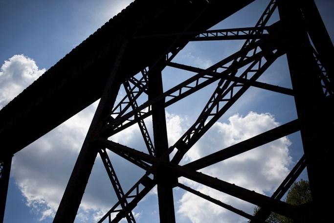 Sweeneysburg trestle bridge