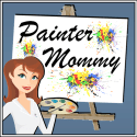 Painter Mommy Button