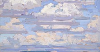 Tom-Thomson_Summer-Clouds_-1916