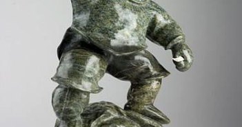 davie-atchealak-inuit-arctic-sculpture