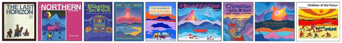 Selection of Ted Harrison Books