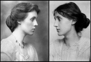 Vanessa Bell (1879-1961) and sister Virginia Woolf (1882–1941)