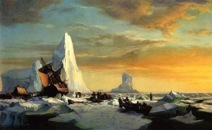 william-bradford_caught-in-ice-floes